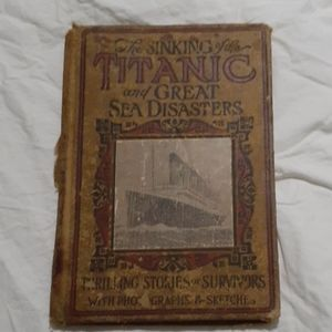 Original The sinking o ffg the Titanic
